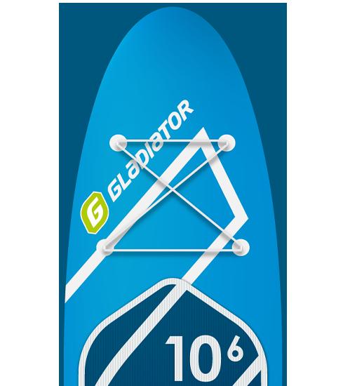 Gladiator Paddleboards Elite 10'6