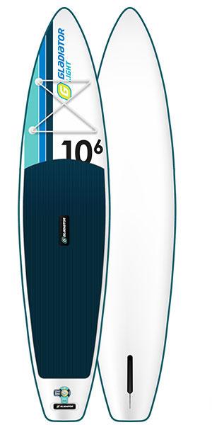 Gladiator Light 10'6 Paddleboard Deck and Hull